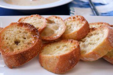 Garlic Rubbed Crostini
