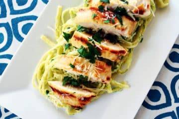 Roasted Asparagus Ricotta Linguine