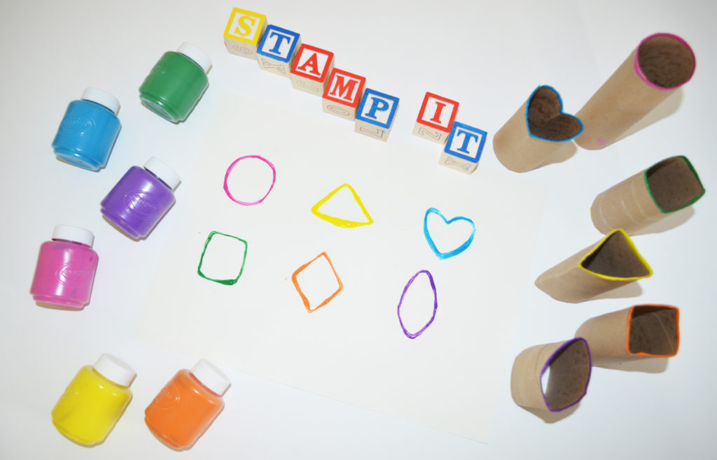 Stamp It Kids Art