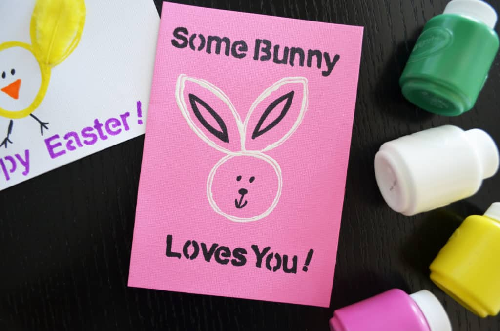 Cute Stamped EHomemade Easter Cardsaster Card
