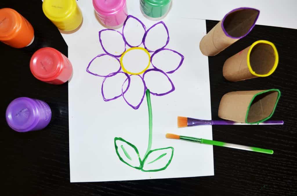 Spring Time Stamp Art