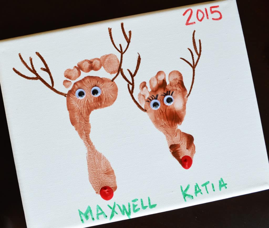 Reindeer Canvas Art