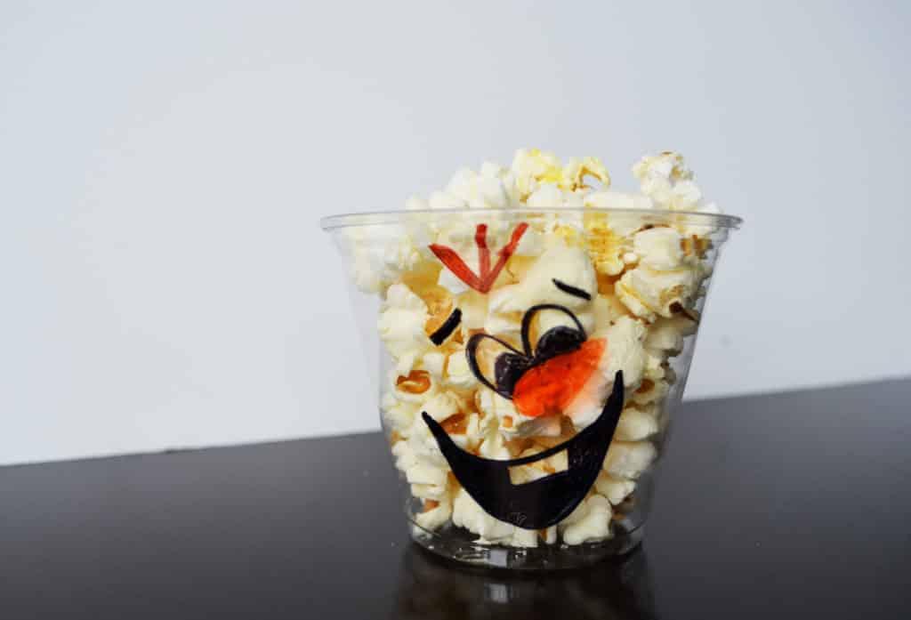 Olaf Popcorn Cups