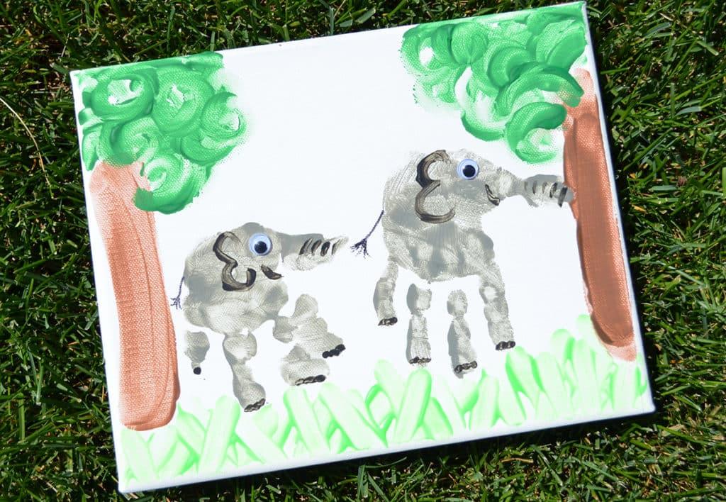 Elephant Canvas Art