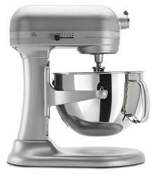 KitchenAid KP26M1XNP Professional 600 Series 6-Quart Stand Mixer - Nickel Pearl