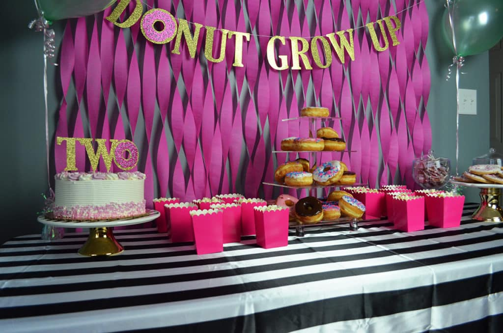 Donut Grow Up Party