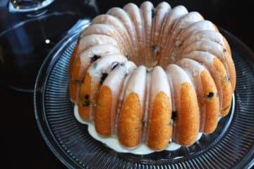 The Best Lemon Blueberry Bundt Cake